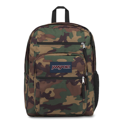 Jansport Big Student Surplus Camo Sırt Çantası 34L Js00tdn74j9
