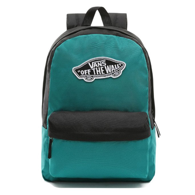 Realm Backpack  Quetzal Green-Black & VN0A3UI6UW51